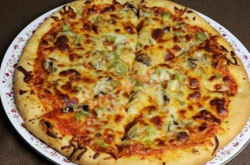 Sensasi Makan Pizza