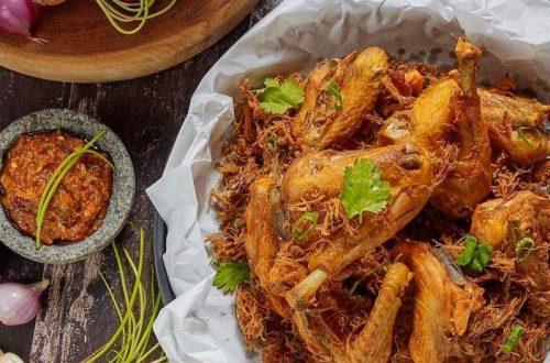 Ayam Opor Goreng